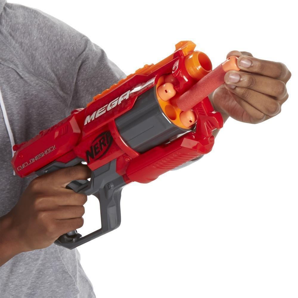 Lançador Nerf N-Strike Elite Mega Cyclone Hasbro