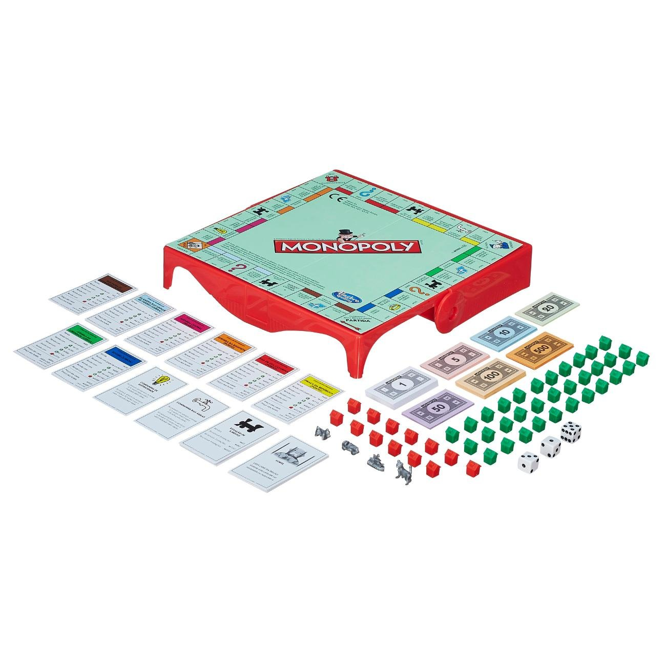 Jogo Monopoly Grab & Go Hasbro