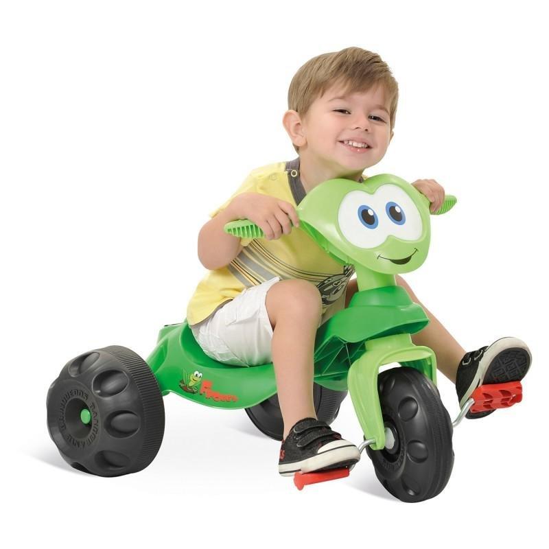 Triciclo Zootico Froggy Bandeirante