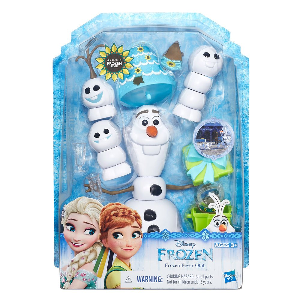Figura Olaf Frozen Febre Congelante Hasbro