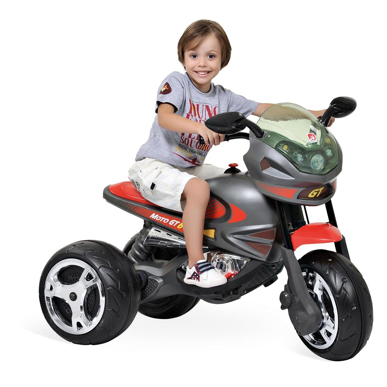 Moto Elétrica Super Moto Gp 6v Grafitte Bandeirante
