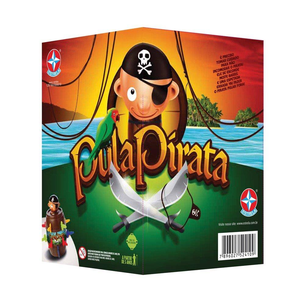 Jogo Pula Pirata Realidade Aumentada Estrela
