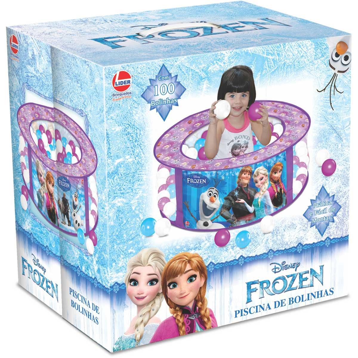 Piscina de Bolinhas Frozen Disney Líder