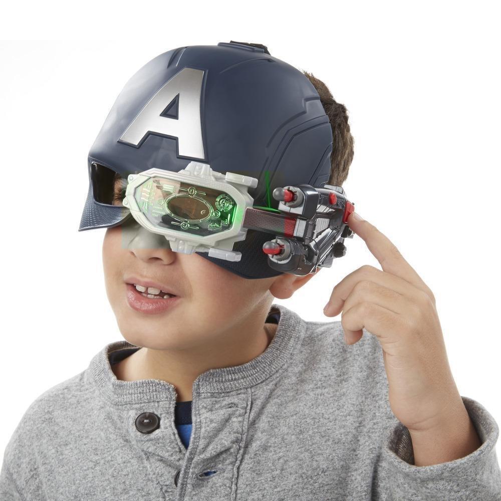 e5da305b40 Máscara Eletrônica Capitão América Guerra Civil Hasbro - Fátima Criança
