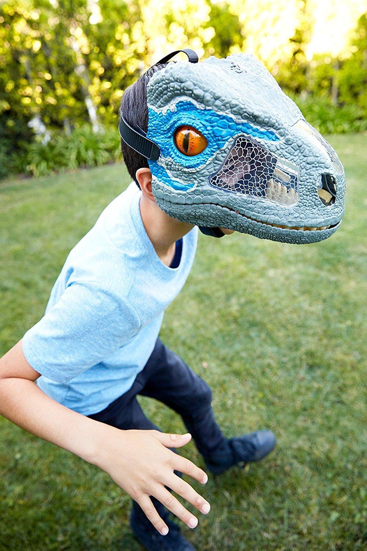 Jurassic World Máscara Eletrônica Velocipaptor Mattel