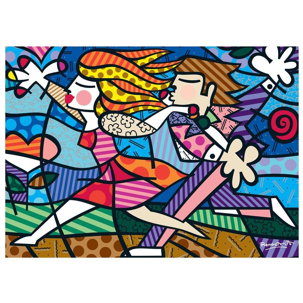 Quebra-Cabeça Romero Britto Love Blossoms 2000 Peças Grow