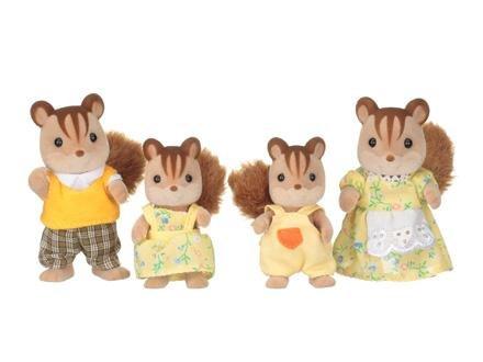 Sylvanian Families Família dos Esquilos Noz Epoch