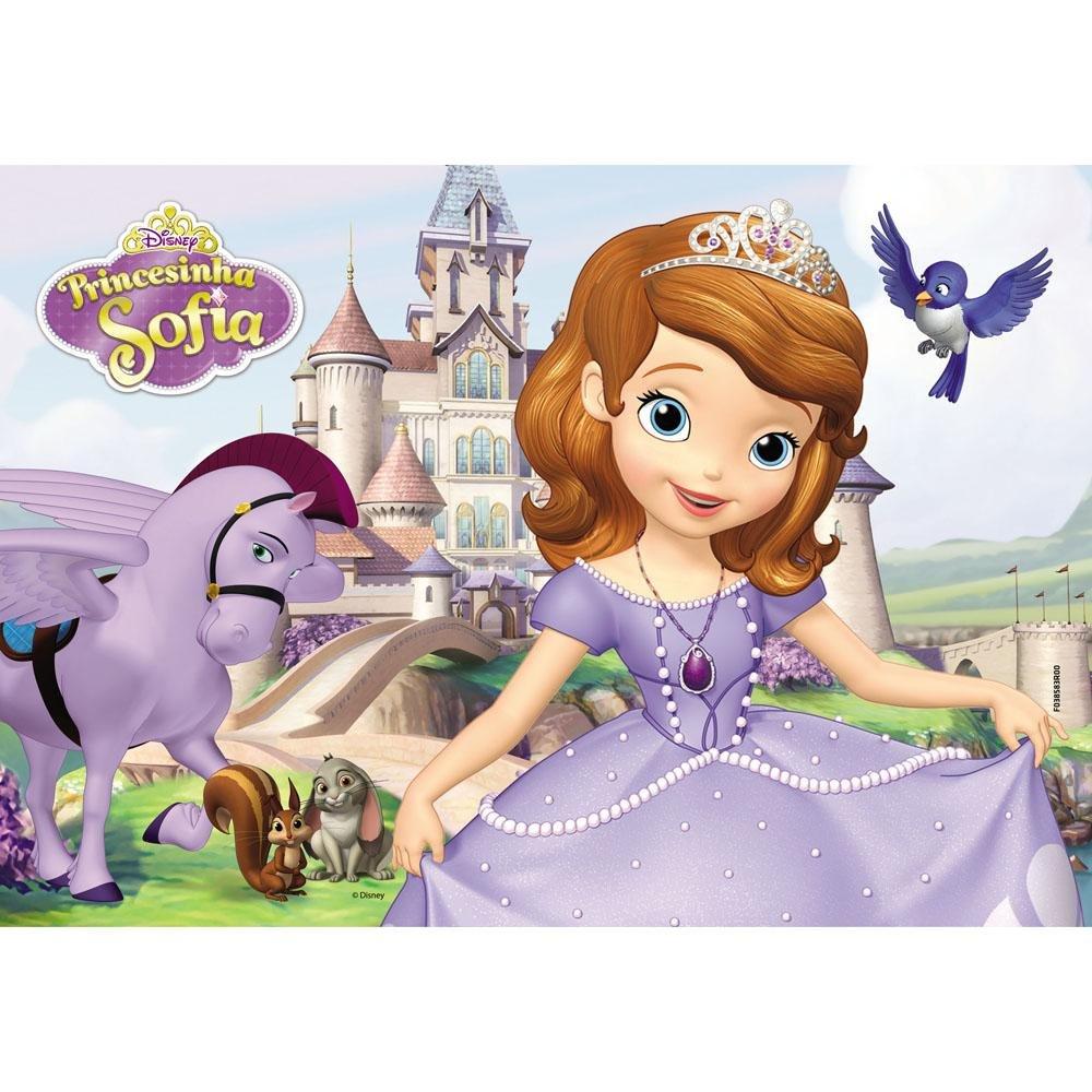 Quebra-Cabeça Princesinha Sofia 30 Peças Grow