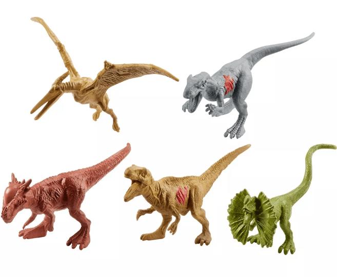 Jurassic World Conjunto com 15 Dinossauros Mattel