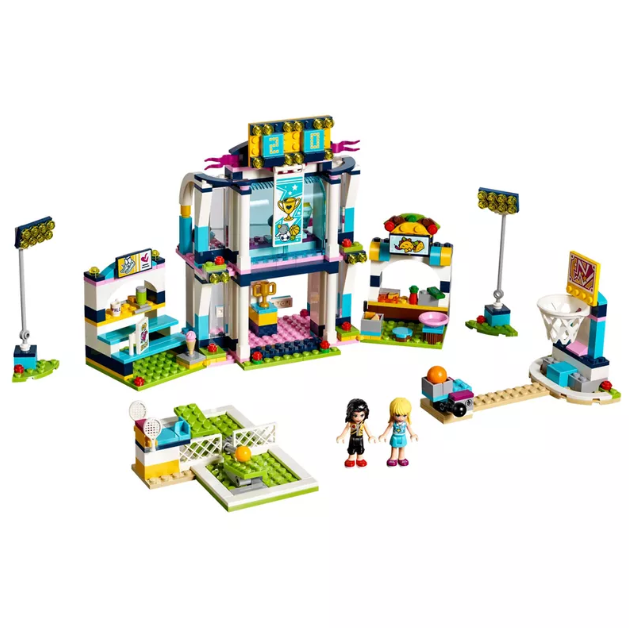 A Arena de Esportes da Stephanie Lego