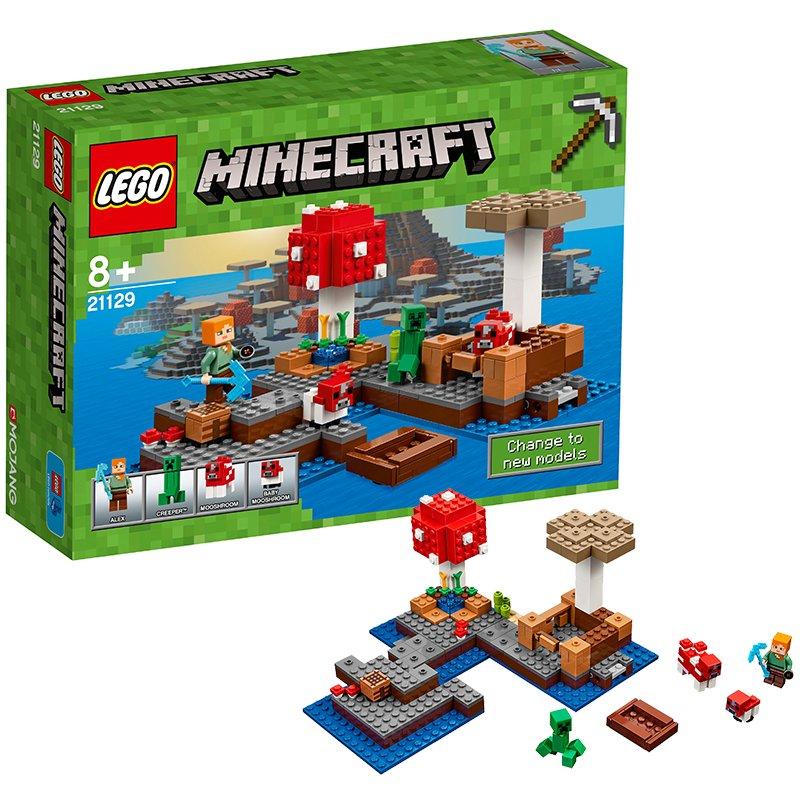 A Ilha dos Cogumelos Lego