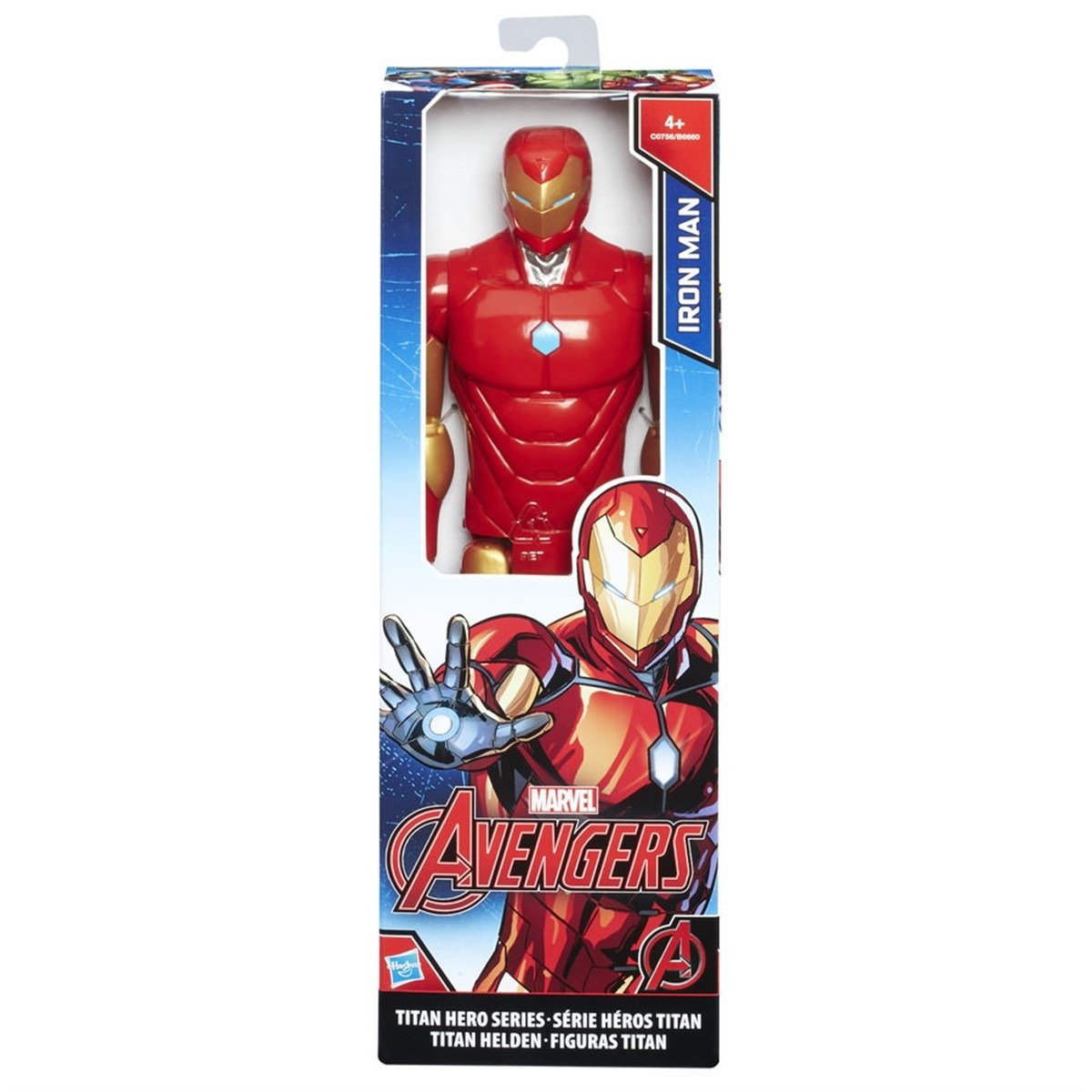 Boneco Avengers Titan Homem de Ferro Hasbro