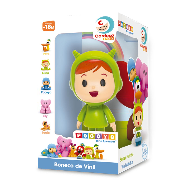 Boneca Nina de Vinil Turma do Pocoyo Cardoso