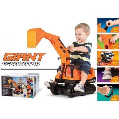 Escavadeira Gigante Roma Jensen Brinquedos