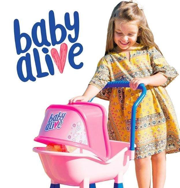 Baby Alive Carrinho de Bebê Cotiplás
