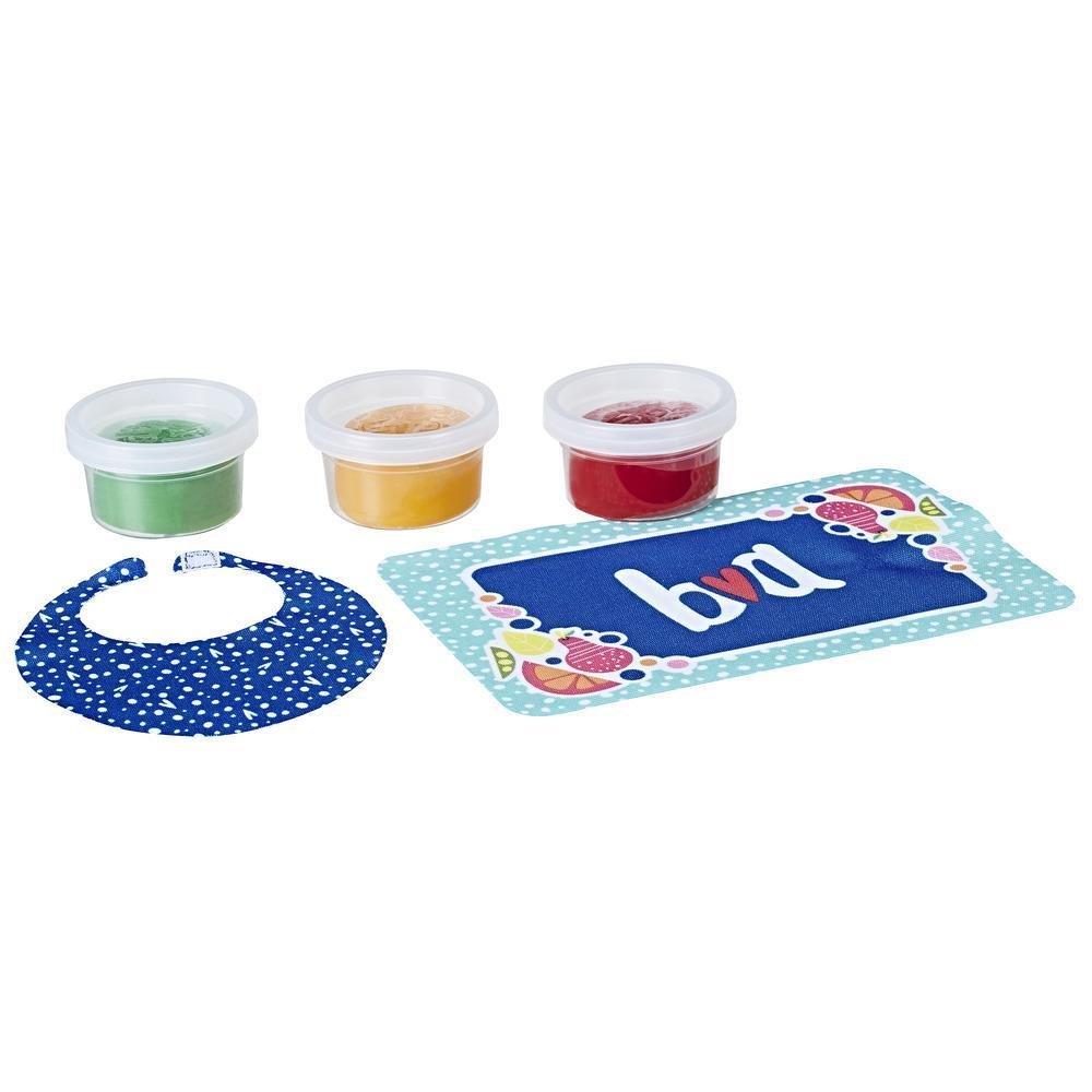 Baby Alive Super Snacks Refil de Comida Sólida Reutilizável para Boneca Hasbro