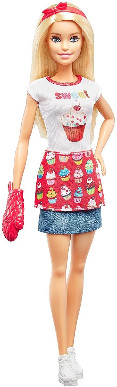 Barbie Cozinhando e Criando Chef De Bolinhos Mattel