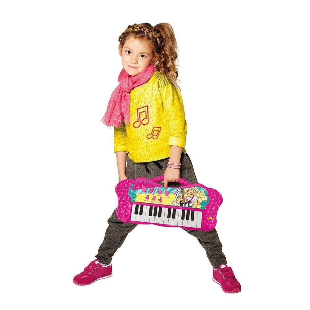Barbie Teclado Fabuloso Com Função MP3 Player Fun
