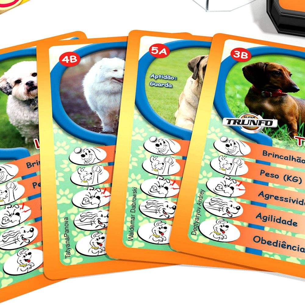 Super Trunfo Cães de Raça 2 Grow