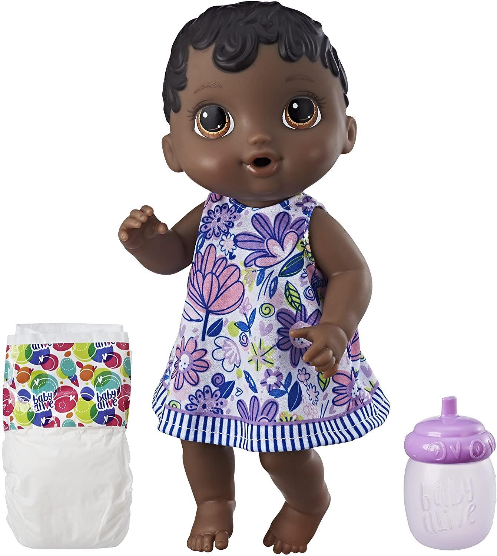 Boneca Baby Alive Hora do Xixi Negra Hasbro