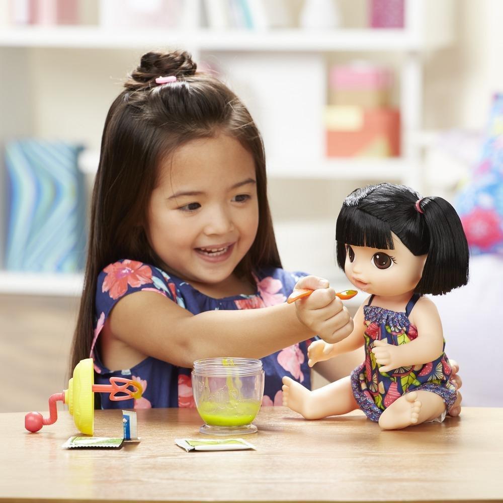 bed80ed20b Boneca Baby Alive Papinha Divertida Asiática Hasbro - Fátima Criança