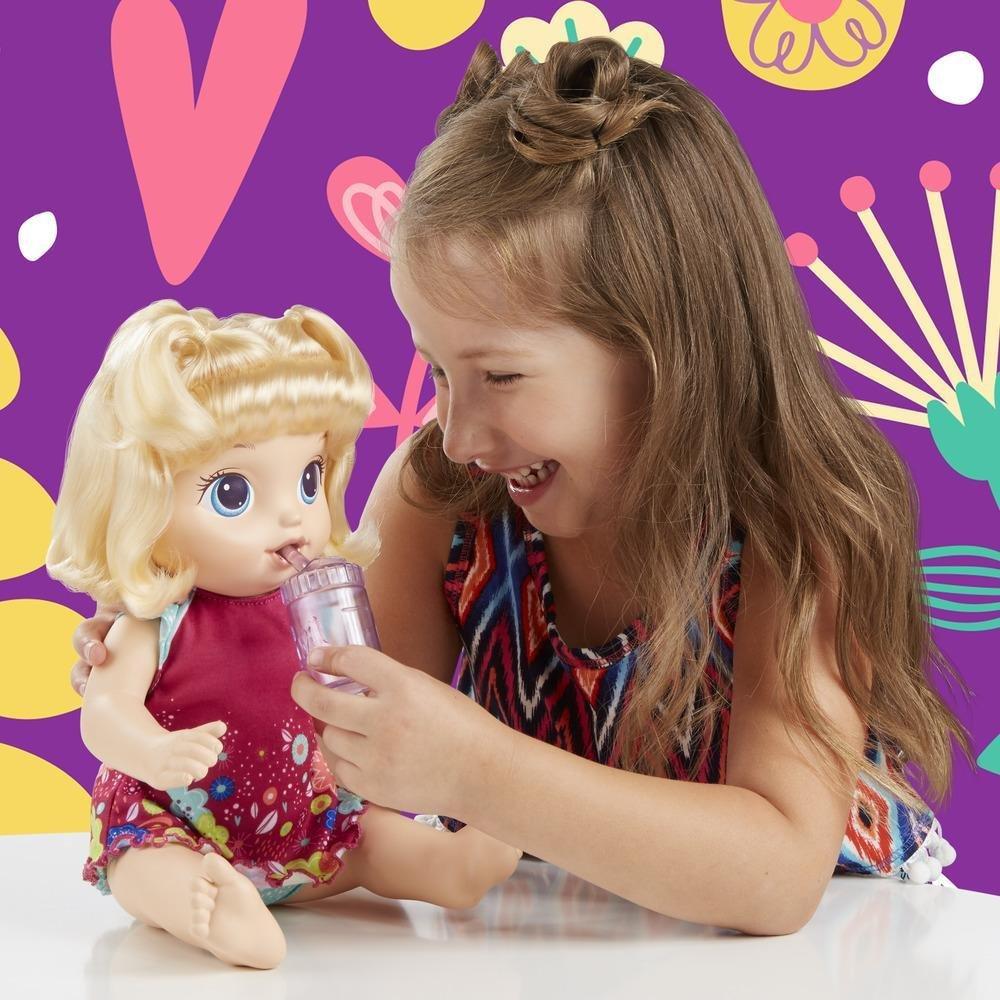 Boneca Baby Alive Primeiro Peniquinho Loira Hasbro