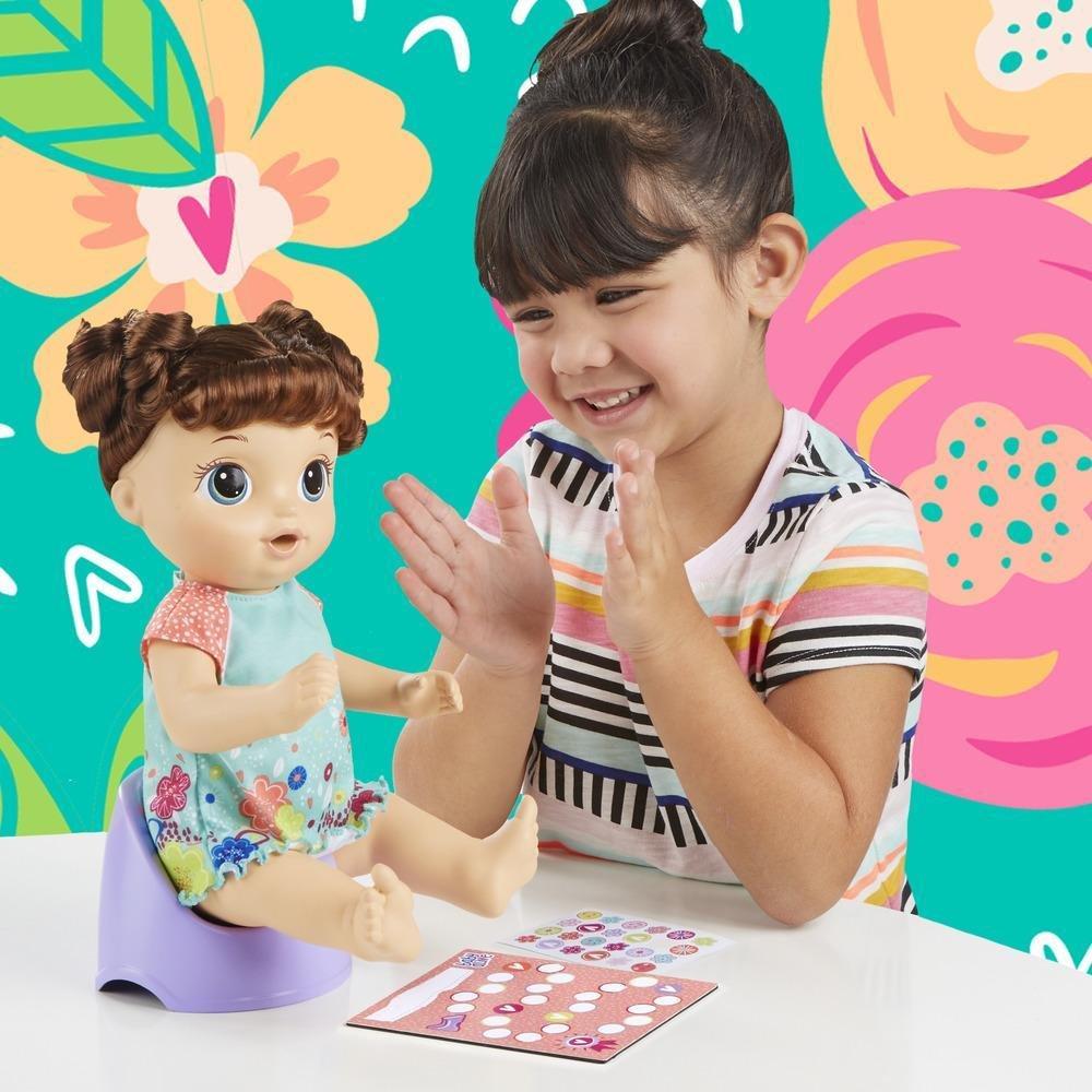 Boneca Baby Alive Primeiro Peniquinho Morena Hasbro