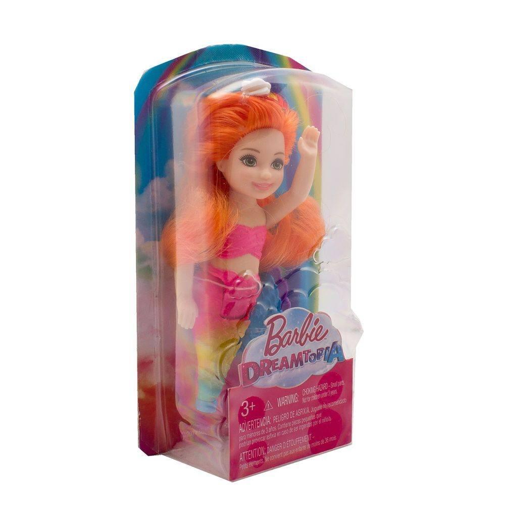 Boneca Barbie Dreamtopia Sereias Chelsea Mattel