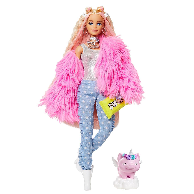 Boneca Barbie Extra Teddy Bear Sweet com Pet Mattel