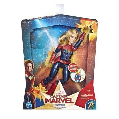 Boneca Capitã Marvel  Eletrônica Hasbro