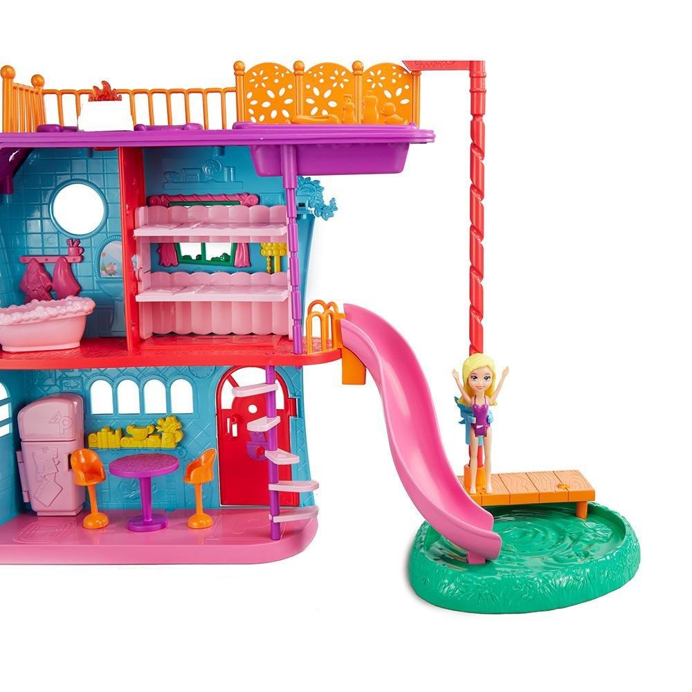 Boneca Polly Pocket Casa De F 233 Rias Da Polly Mattel