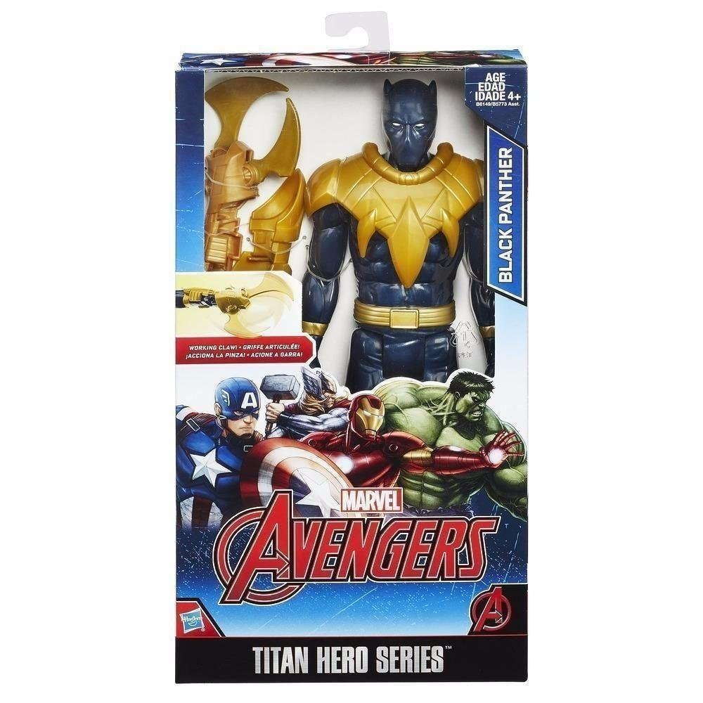 Boneco Avengers Pantera Negra Titan Series Hasbro