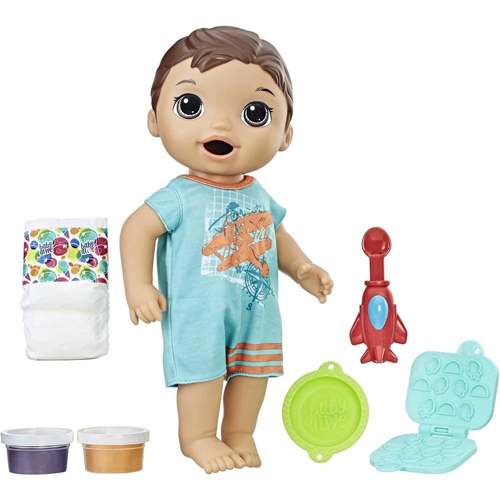 Boneco Baby Alive Meu Primeiro Filho Moreno Hasbro