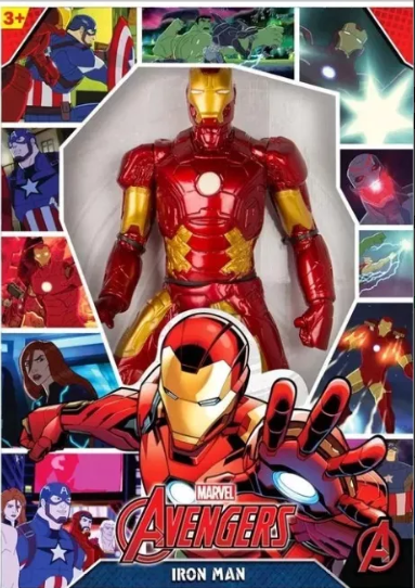 7820e747bb Boneco Gigante Homem de Ferro Revolution Avengers Mimo - Fátima Criança
