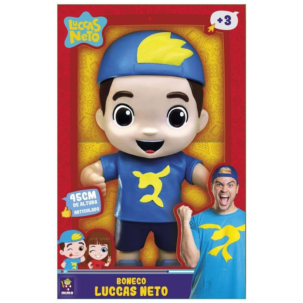 Boneco Luccas Neto Gigante 45 Cm Mimo