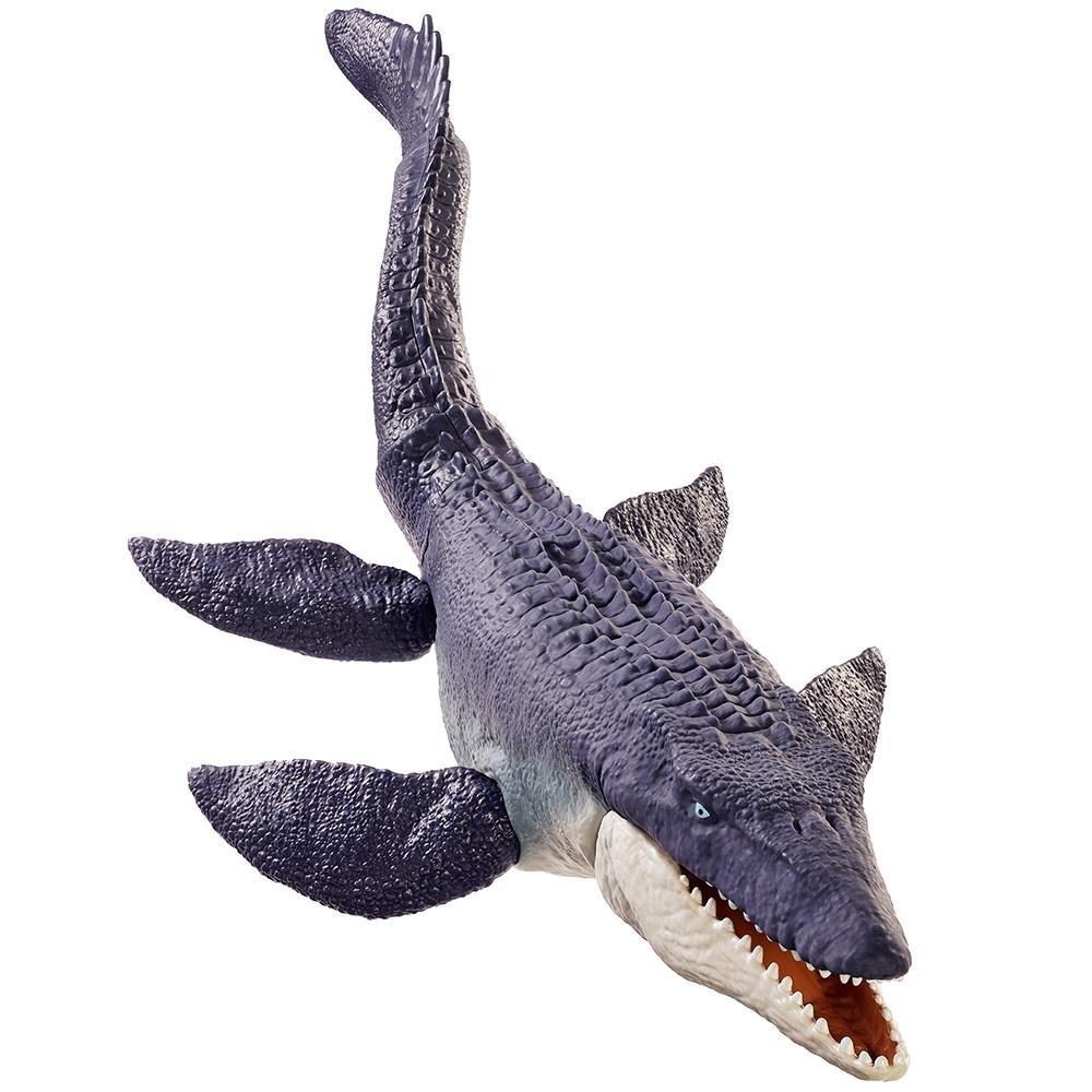 Dinossauro Mosassauro Protetor dos Oceanos Jurassic World Mattel