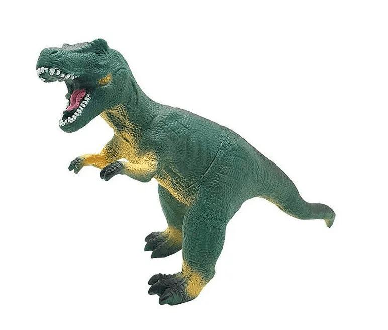 Boneco Tiranossauro Rex de Vinil Mundo dos Dinossauros Db Play
