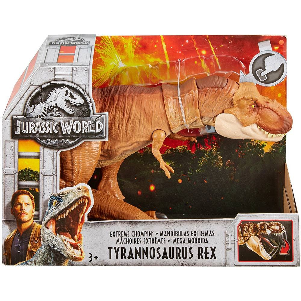 Boneco Tyrannosaurus Rex Jurassic World Mattel