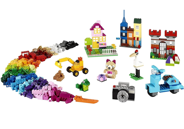 Caixa Grande de Peças Criativas Lego