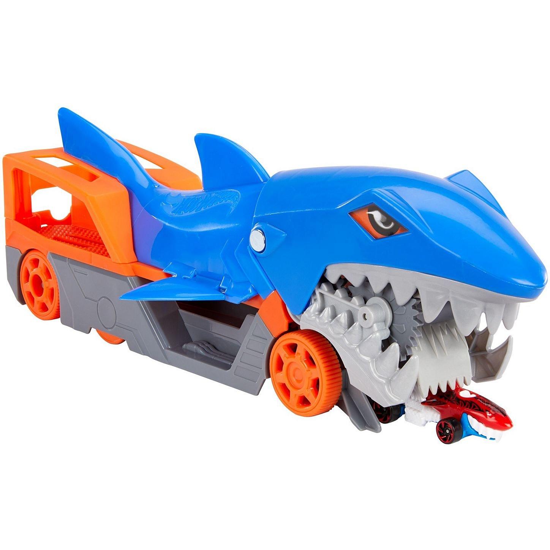 Caminhão Guincho Tubarão Mastigador Hot Wheels
