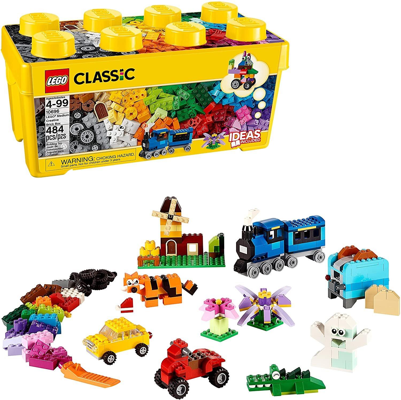 Classic Caixa Média de Peças Criativas Lego