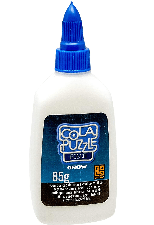 Cola Fosca para Quebra-cabeças de até 1000 Peças Grow