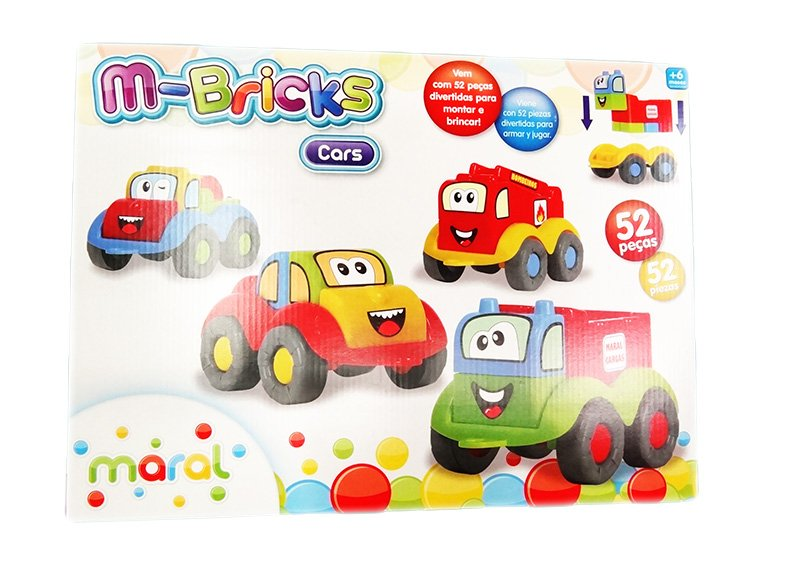 Conjunto M-Bricks Cars Maral