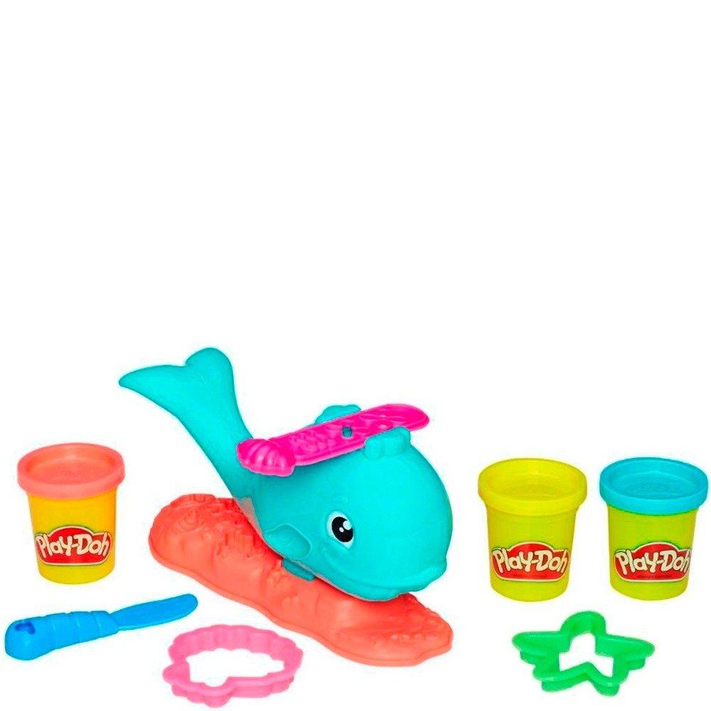 Conjunto Play-Doh Baleia Divertida Hasbro