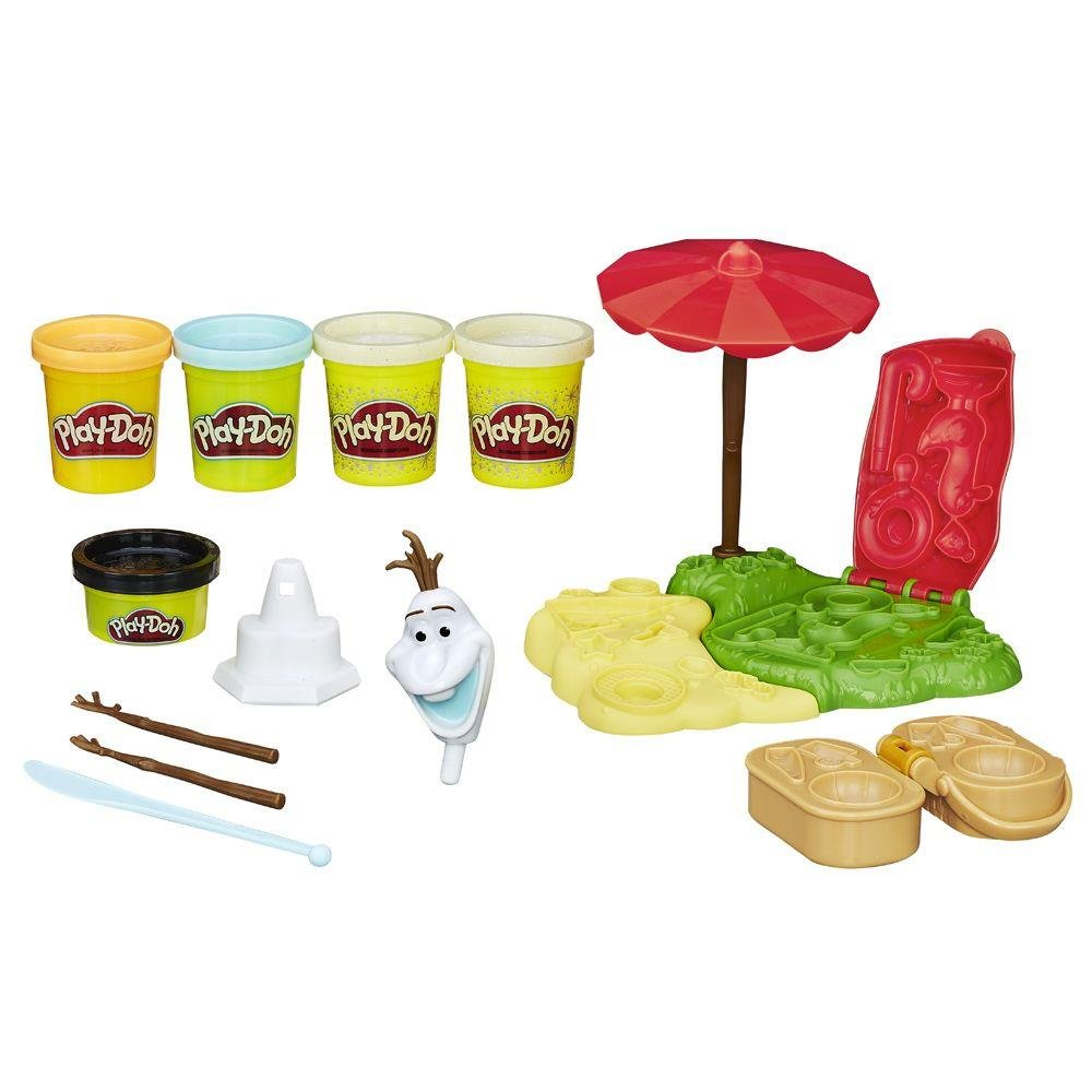 Conjunto Play-Doh Frozen Verão Do Olaf Hasbro
