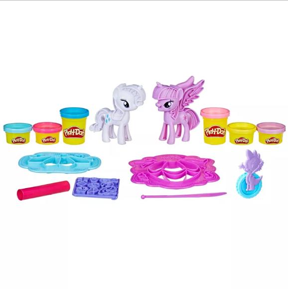 Conjunto Play-Doh My Little Pony Diversão Fashion Hasbro