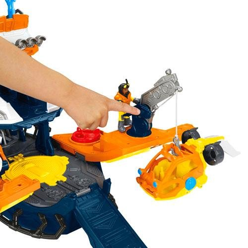 Navio Comando do Mar Imaginext Fisher-Price
