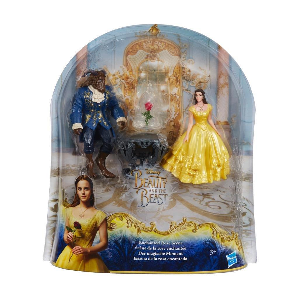 Conjunto A Bela e a Fera Cena da Rosa Encantada Disney Hasbro