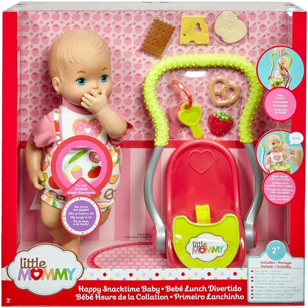 Boneca Little Mommy Primeiro Lanchinho Mattel
