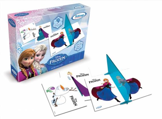 Desenhando Frozen Disney Xalingo